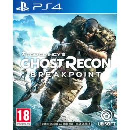 TOM CLANCY'S GHOST RECON BREAKPOINT PS4 NUOVO ITALIANO