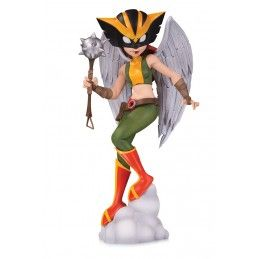 DC COLLECTIBLES DC ARTISTS ALLEY - HAWKGIRL BY ZULLO 16CM PVC STATUE FIGURE