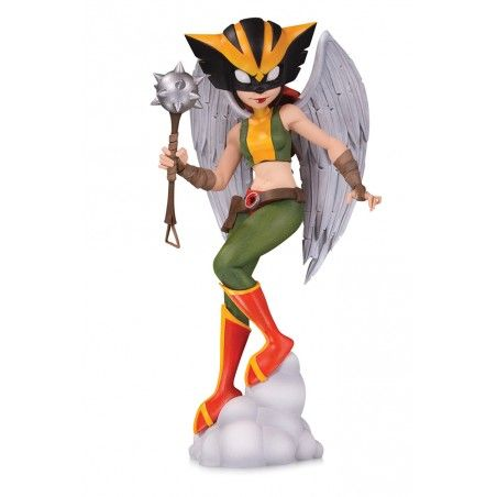 DC ARTISTS ALLEY - HAWKGIRL BY ZULLO 16CM PVC STATUE FIGURE