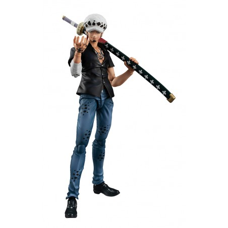 ONE PIECE VARIABLE ACTION HEROES - TRAFALGAR LAW 17CM ACTION FIGURE