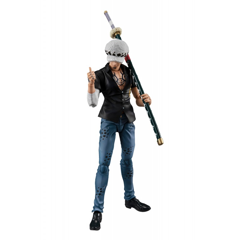 ONE PIECE VARIABLE ACTION HEROES - TRAFALGAR LAW 17CM ACTION FIGURE MEGAHOUSE