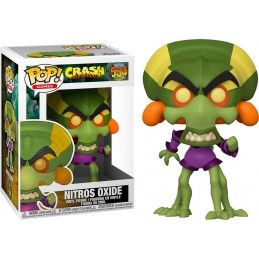 FUNKO POP! CRASH BANDICOOT NITROS OXIDE BOBBLE HEAD KNOCKER FIGURE FUNKO