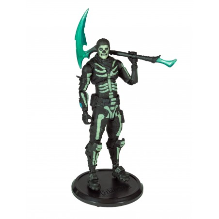 FORTNITE - GREEN GLOW SKULL TROOPER 18CM ACTION FIGURE