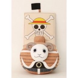 SAKAMI MERCHANDISE PUPAZZO PELUCHE ONE PIECE - GOING MERRY 25CM PLUSH