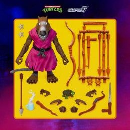 TMNT TEENAGE MUTANT NINJA TURTLES ULTIMATES SPLINTER ACTION FIGURE SUPER7