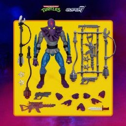 TMNT TEENAGE MUTANT NINJA TURTLES ULTIMATES FOOT SOLDIER ACTION FIGURE SUPER7