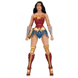 DC COLLECTIBLES DC COMICS ESSENTIALS WONDER WOMAN ACTION FIGURE