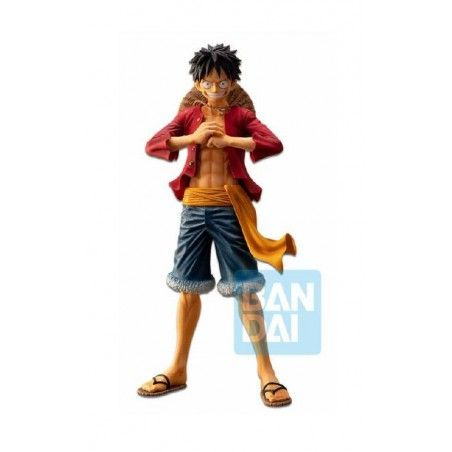 ONE PIECE ICHIBANSHO PVC LUFFY THE BONDS OF BROTHERS STATUE 28CM FIGURE
