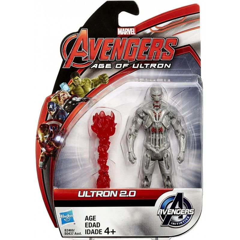 MARVEL AVENGERS AGE OF ULTRON ALL STARS - ULTRON 2.0 ACTION FIGURE HASBRO