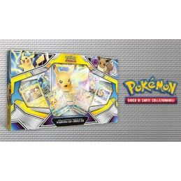 POKEMON COLLEZIONE SPECIALE PIKACHU-GX E EEVEE-GX IN ITALIANO THE POKEMON COMPANY INTERNATIONAL