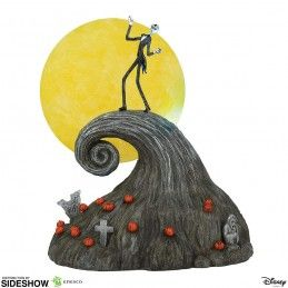 NIGHTMARE BEFORE CHRISTMAS JACK ON SPIRAL HILL STATUE FIGURE ENESCO