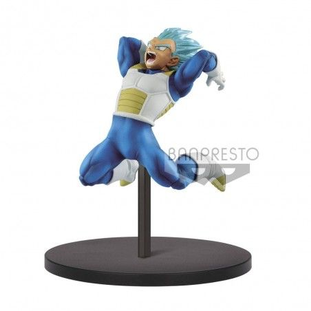 DRAGON BALL SUPER CHOSENSHIRETSUDEN - SUPER SAIYAN GOD VEGETA 12CM STATUE FIGURE