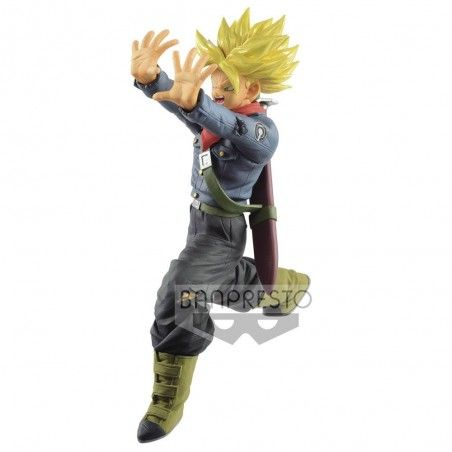 DRAGON BALL SUPER SAIYAN TRUNKS GALICK GUN STATUE