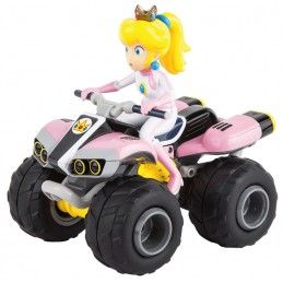 MARIO KART PEACH QUAD CARRERA RC MODEL RADIOCOMANDATO CARRERA