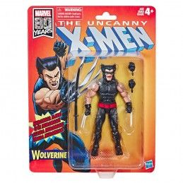 MARVEL LEGENDS RETRO - UNCANNY X-MEN WOLVERINE ACTION FIGURE HASBRO