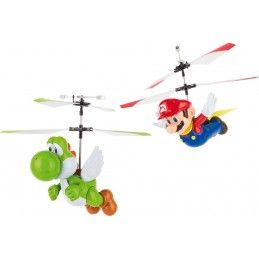 SUPERMARIO FLYING CAPE MARIO AND YOSHI CARRERA RC MODEL RADIOCOMANDATO CARRERA
