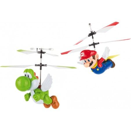 SUPERMARIO FLYING CAPE MARIO AND YOSHI CARRERA RC MODEL RADIOCOMANDATO