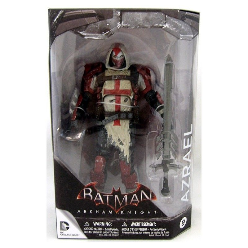 BATMAN ARKHAM KNIGHT - AZRAEL ACTION FIGURE DC COLLECTIBLES