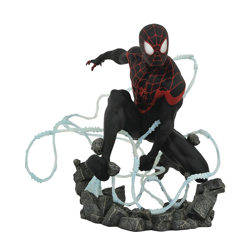 MARVEL PREMIUM COLLECTION - SPIDER-MAN MILES MORALES 25CM FIGURE STATUE DIAMOND SELECT