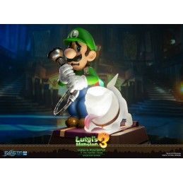 LUIGI'S MANSION 3 - LUIGI AND POLTERPUP DELUXE PVC STATUE 23 CM FIGURE FIRST4FIGURES