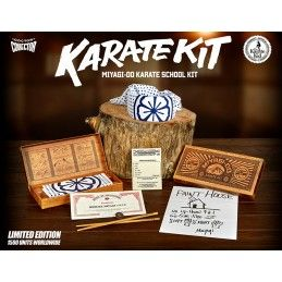 DOCTOR COLLECTOR KARATE KID MIYAGI-DO KARATE SCHOOL KIT SET DA COLLEZIONE