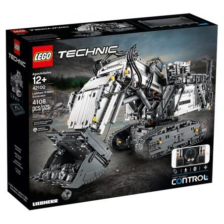 LEGO TECHNIC ESCAVATORE R 9800 LIEBHERR 42100