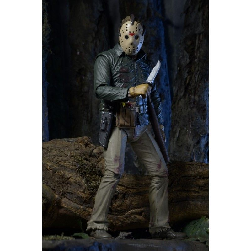 FRIDAY THE 13TH PART VI JASON VOORHEES JASON LIVES DELUXE ACTION FIGURE NECA