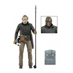 NECA FRIDAY THE 13TH PART VI JASON VOORHEES JASON LIVES DELUXE ACTION FIGURE