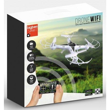 BIGBEN DRONE WIFI VGA CAM RADIOCOMANDATO