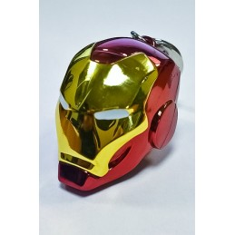 IRON MAN HELMET KEYCHAIN PORTACHIAVI IN METALLO SEMIC
