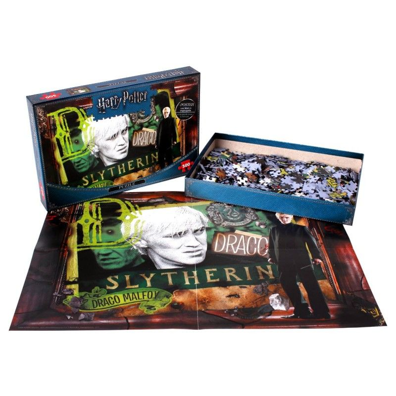 HARRY POTTER SLYTHERIN SERPEVERDE DRACO MALFOY 500 PIECES PEZZI JIGSAW PUZZLE