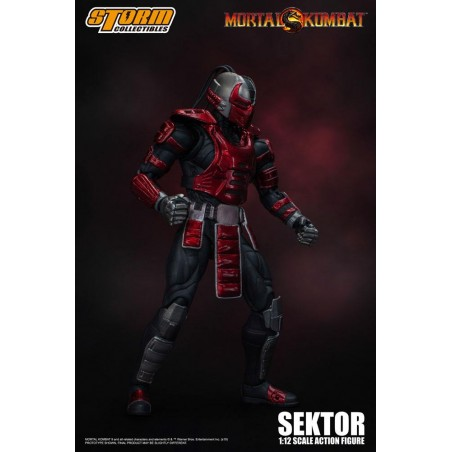 MORTAL KOMBAT - SEKTOR 1/12 ACTION FIGURE
