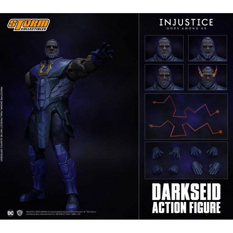INJUSTICE: GODS AMONG US - DARKSEID 1/12 ACTION FIGURE STORM COLLECTIBLES