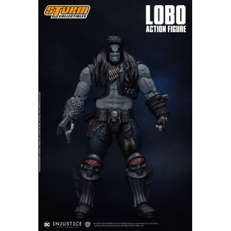 INJUSTICE: GODS AMONG US - LOBO 1/12 ACTION FIGURE