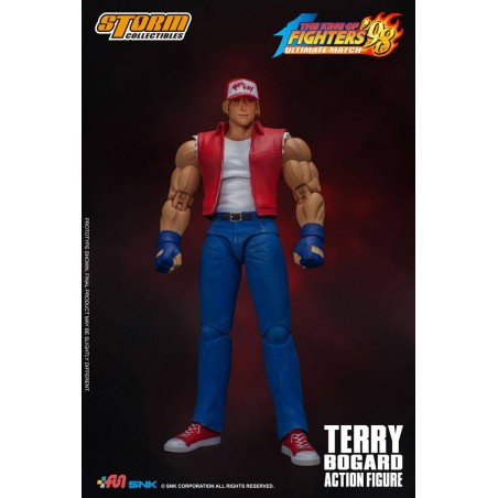 KING OF FIGHTERS '98 ULTIMATE MATCH - TERRY BOGARD 1/12 ACTION FIGURE