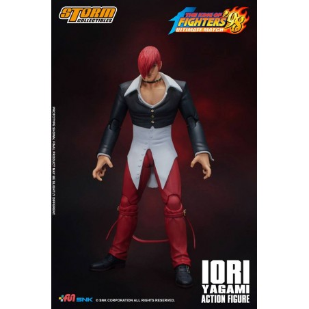 KING OF FIGHTERS '98 ULTIMATE MATCH - IORI YAGAMI 1/12 ACTION FIGURE