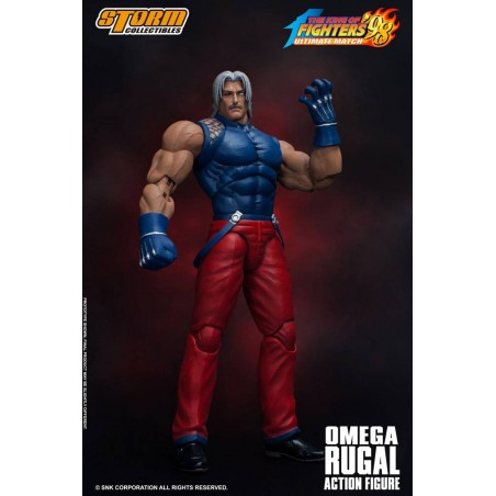 KING OF FIGHTERS '98 ULTIMATE MATCH - OMEGA RUGAL 1/12 ACTION FIGURE