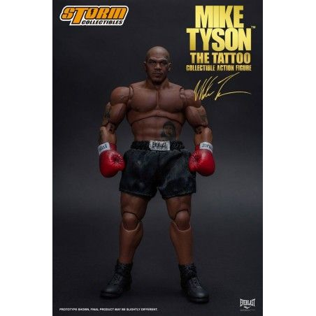 MIKE TYSON - THE TATTOO 1/12 ACTION FIGURE