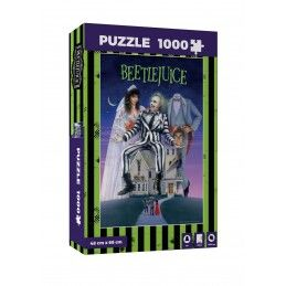 BEETLEJUICE MOVIE POSTER 1000 PIECES PEZZI JIGSAW PUZZLE 48x68cm SD TOYS