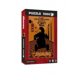 SD TOYS THE SHINING IT ISNT REAL POSTER 1000 PIECES PEZZI JIGSAW PUZZLE 48x68cm