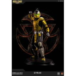 POP CULTURE SHOCK COLLECTIBLES MORTAL KOMBAT KLASSIC - CYRAX 1/4 52CM STATUE FIGURE