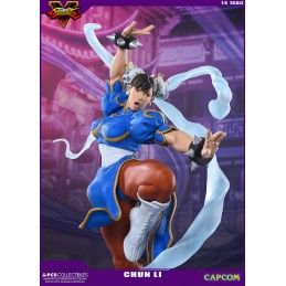 POP CULTURE SHOCK COLLECTIBLES STREET FIGHTER 5 - CHUN-LI V-TRIGGER 1/4 43CM STATUE FIGURE