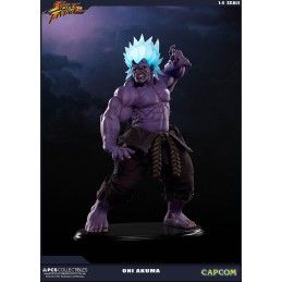 POP CULTURE SHOCK COLLECTIBLES STREET FIGHTER - ONI AKUMA 1/4 45CM STATUE FIGURE