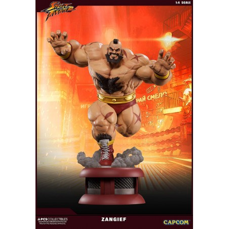 STREET FIGHTER - ZANGIEF ULTRA 1/4 60CM STATUE FIGURE