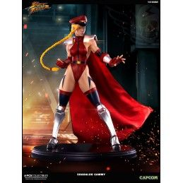 POP CULTURE SHOCK COLLECTIBLES STREET FIGHTER - SHADALOO CAMMY 1/4 43CM STATUE FIGURE