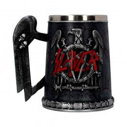 SLAYER - TANKARD EAGLE LOGO RESIN BOCCALE NEMESIS NOW