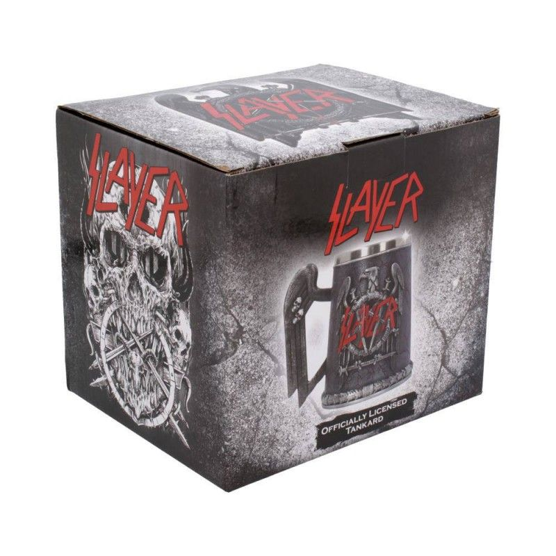 NEMESIS NOW SLAYER - TANKARD EAGLE LOGO RESIN BOCCALE