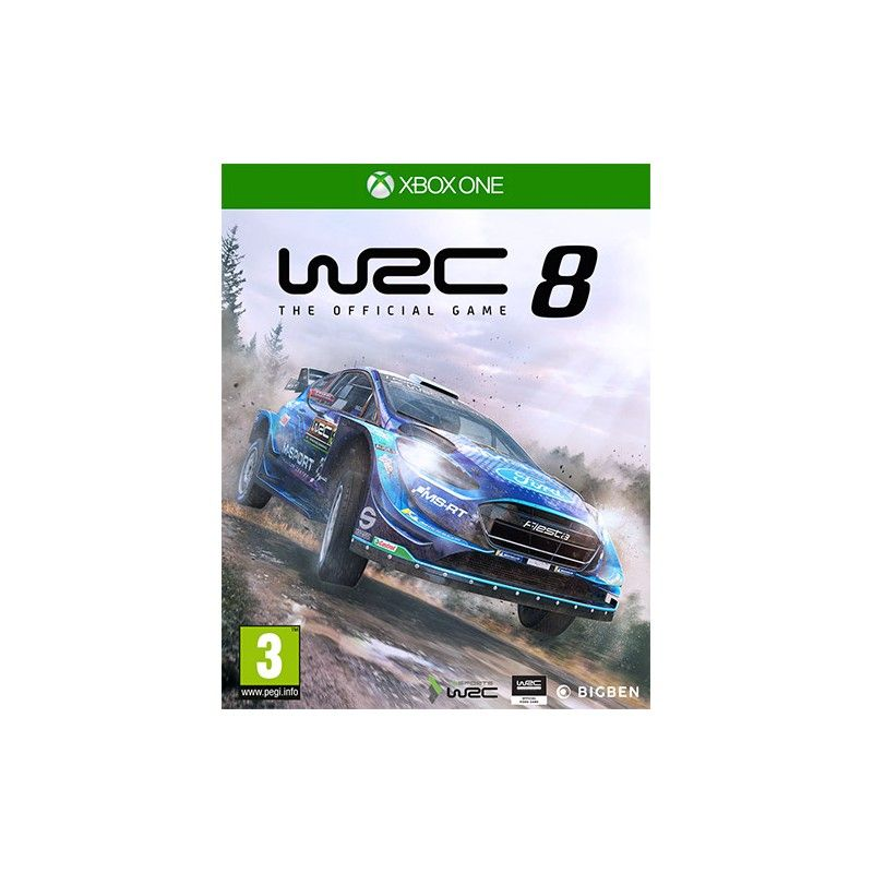 WORLD RALLY CHAMPIONSHIP WRC 8 XBOX ONE NUOVO ITALIANO
