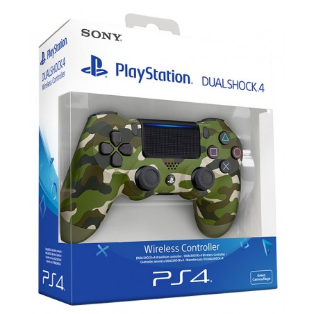 SONY CONTROLLER DUAL SHOCK 4 V2 PS4 GREEN CAMOUFLAGE