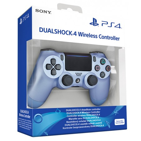 SONY CONTROLLER DUAL SHOCK 4 V2 PS4 TITANIUM BLUE